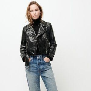 Vintage Jackets & Coats - CLEARANCE | VTG Black Leather Moto Jacket